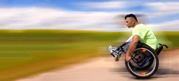DRS-Interview: Rollstuhlmobilität im Corona-Modus
