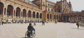 Andalusien im Rollstuhl