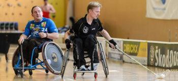 Rollstuhl-Hockey