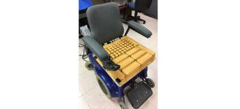 Prototyp: Rollstuhlkissen für aktive Druckentlastung