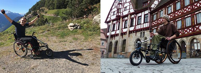 Das Quinty Vorspannrad gibt es neben derm Classic-Modell auch in den Varianten Curve und Beach.