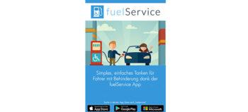 FuelService – Tankhilfe für Querschnittgelähmte