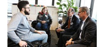 Inklusionsbarometer 2018: Zahl der Arbeitslosen mit Behinderung sinkt weiter