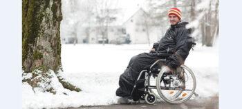Die stecken die Kälte weg: Sechs Punkte, die Querschnittgelähmte über Schlupfsäcke wissen sollten