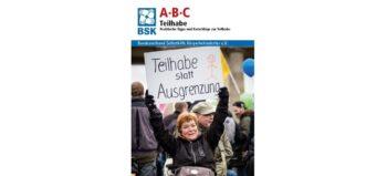"""Broschüre: """"ABC Teilhabe. Praktische Tipps und Ratschläge zur Teilhabe"""""""