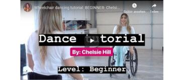 Welttag des Tanzes – Rollstuhltutorial