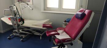 Gynäkologische Sprechstunde für Frauen im Rollstuhl