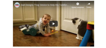 """Der """"Frog"""": Hilfsmittel für Kleinkinder mit Mobilitätseinschränkungen"""