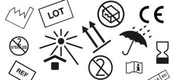 Sonne, Sanduhr und zwei Pfeile: Das bedeuten die Symbole auf Katheterverpackungen
