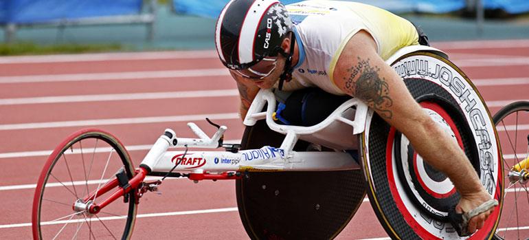 Paratriathlon – Triathlon für Rollstuhlfahrer