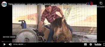 Pferdeflüsterer im Rollstuhl