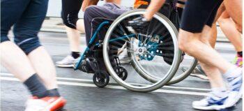 Mobilitätstraining im Rollstuhl ist wichtig