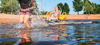 Wasserurlaub für Rollstuhlfahrer