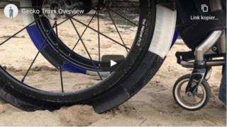 GeckoTraxx – Rollstuhlreifen für den Strand