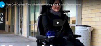 Den Rollstuhl mit der Mimik steuern