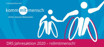 """DRS Jahresaktion 2020 – """"rollmitmensch"""""""