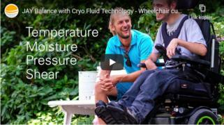 Kühlendes Rollstuhlkissen als Dekubitus-Prophylaxe