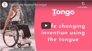 Bei eingeschränkter Handfunktion: Zungensteuerung mit Tongo