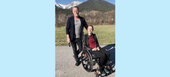 "Das ""Jenke-Experiment"": Assistent von Tetraplegikerin Kira Grünberg"