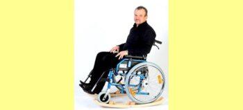 Vom Rollstuhl zum Schaukelstuhl