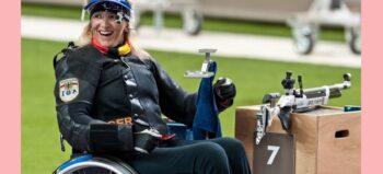 Sportschießen für Rollstuhlfahrer