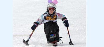 Wintersport für Rollstuhlfahrer