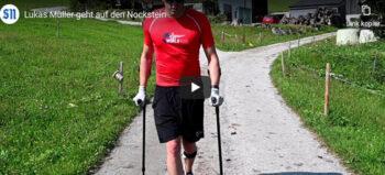 Lukas Müller: Bergwandern mit inkompletter Querschnittlähmung