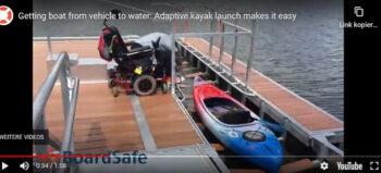 Kajaken für Rollstuhlfahrer: So geht es rein ins Boot und wieder raus