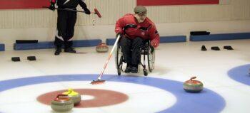 Schach auf dem Eis: Rollstuhlcurling
