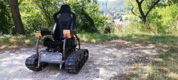 """""""Scuttler"""":  Offroad-Rollstuhl für gemütliche Touren durch die Natur"""