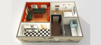 Stufenlos zugängliche Wohnungen im Schnitt teurer