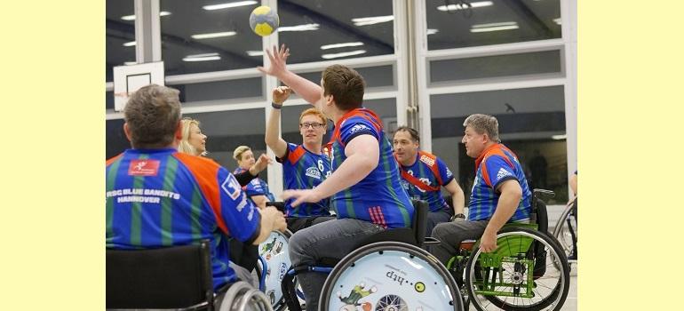 Rollstuhlhandball: Inklusiver Sport im Team