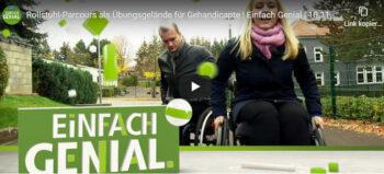 Der mobile Rollstuhl-Parcours