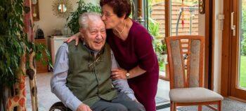 Leben mit Querschnittlähmung: Auch 31 Jahre nach dem Arbeitsunfall voller Energie und Lebensfreude