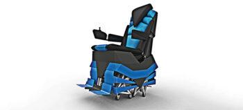 """Kunst trifft Rollstuhl – Walking Chair und Playa Crawler sind """"Rollstühle"""" auf Füßen"""