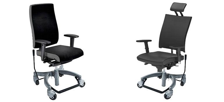 Höhenverstellbar und mit Handbremse: Bürostühle für Menschen mit Querschnittlähmung