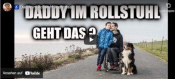 Im Video: Vater mit Querschnittlähmung