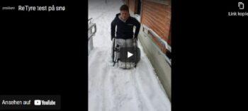 reTyre Traction: Bezug macht aus Standard-Rollstuhlreifen Outdoor-Reifen