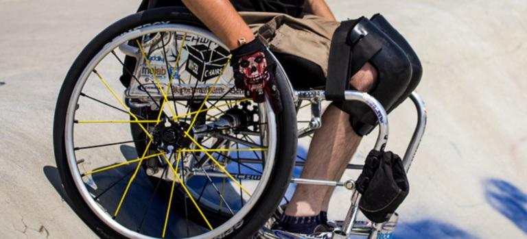 Fünf Fakten über Rollstühle und ihre Fahrer