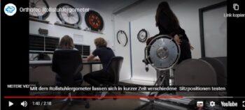 Ergometer für Rollstuhlsportler