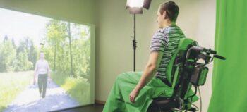 Virtuelles Gehen gegen chronische Schmerzen bei Querschnittlähmung