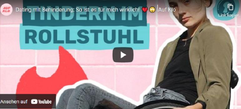 Amelie Ebner: Dating mit Behinderung