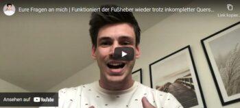 Videoblog: Leben mit inkompletter Querschnittlähmung