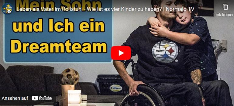 Vater mit Querschnittlähmung: Interview mit Christopher Calm