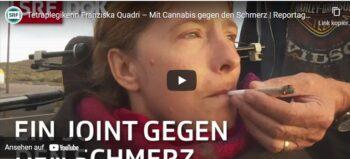 Doku: Cannabis hilft Tetraplegikerin bei Spastik und Schmerzen