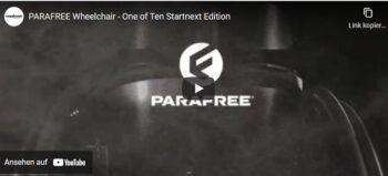 Parafree – Trainings- & Alltagsrollstuhl: Sponsoren gesucht